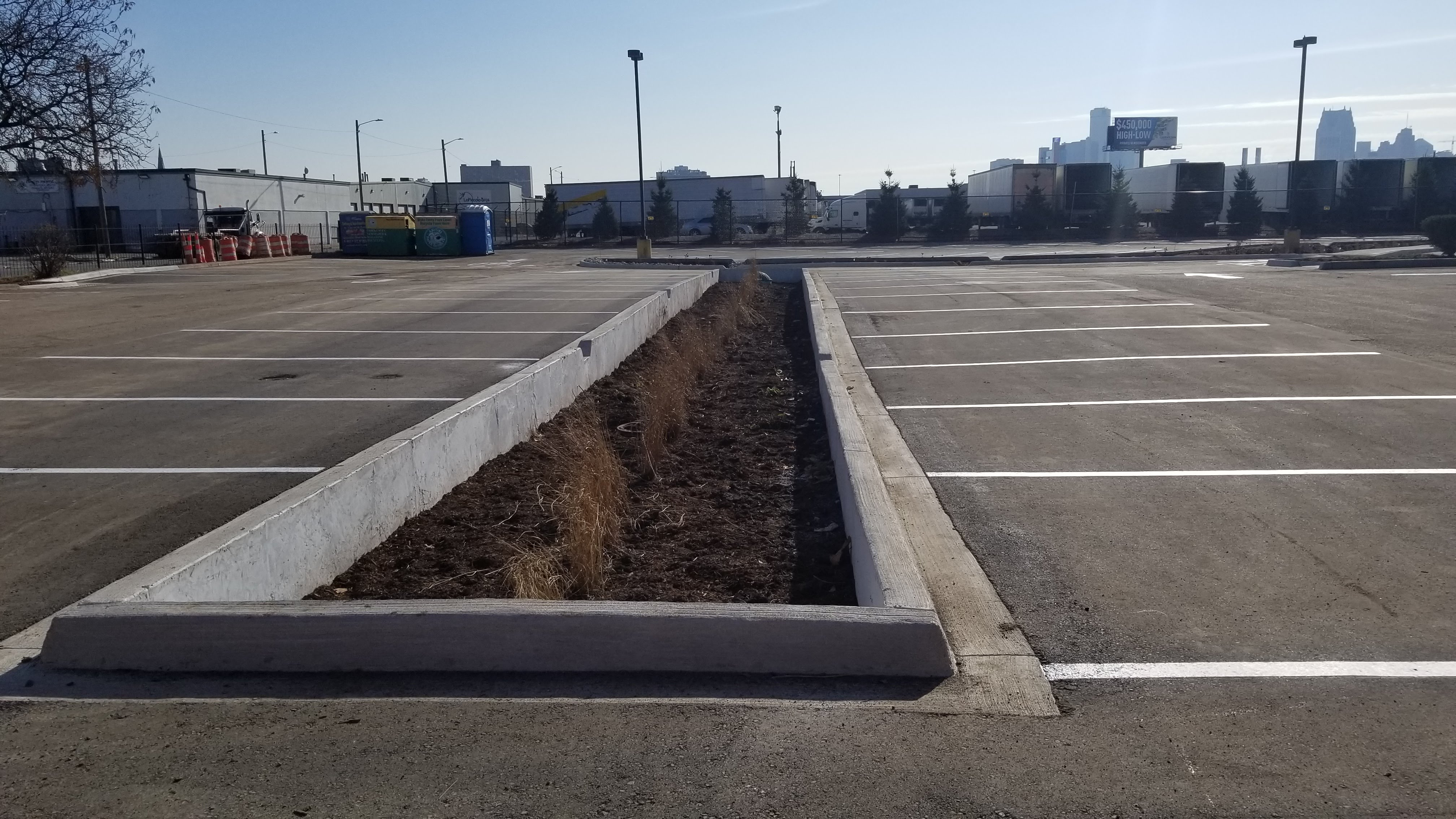 Sacred Heart Church Parking Lot GSI Retrofit